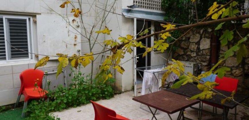 דירת גן 2.5 חד' בחיפה